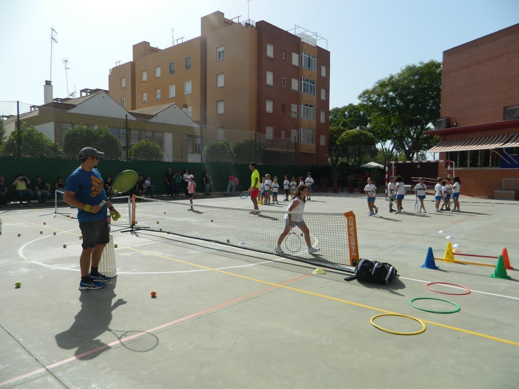 Extra escolar Tenis, Colegio La Luna