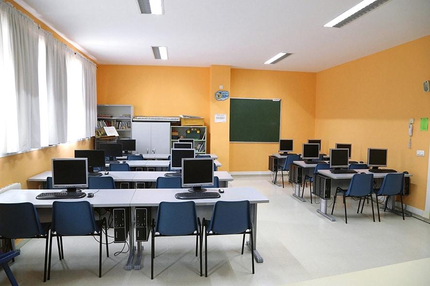Instalaciones, centro educativo La Luna 4