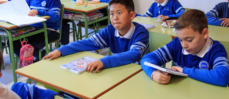 Alumnos y alumnas, Colegio La Luna