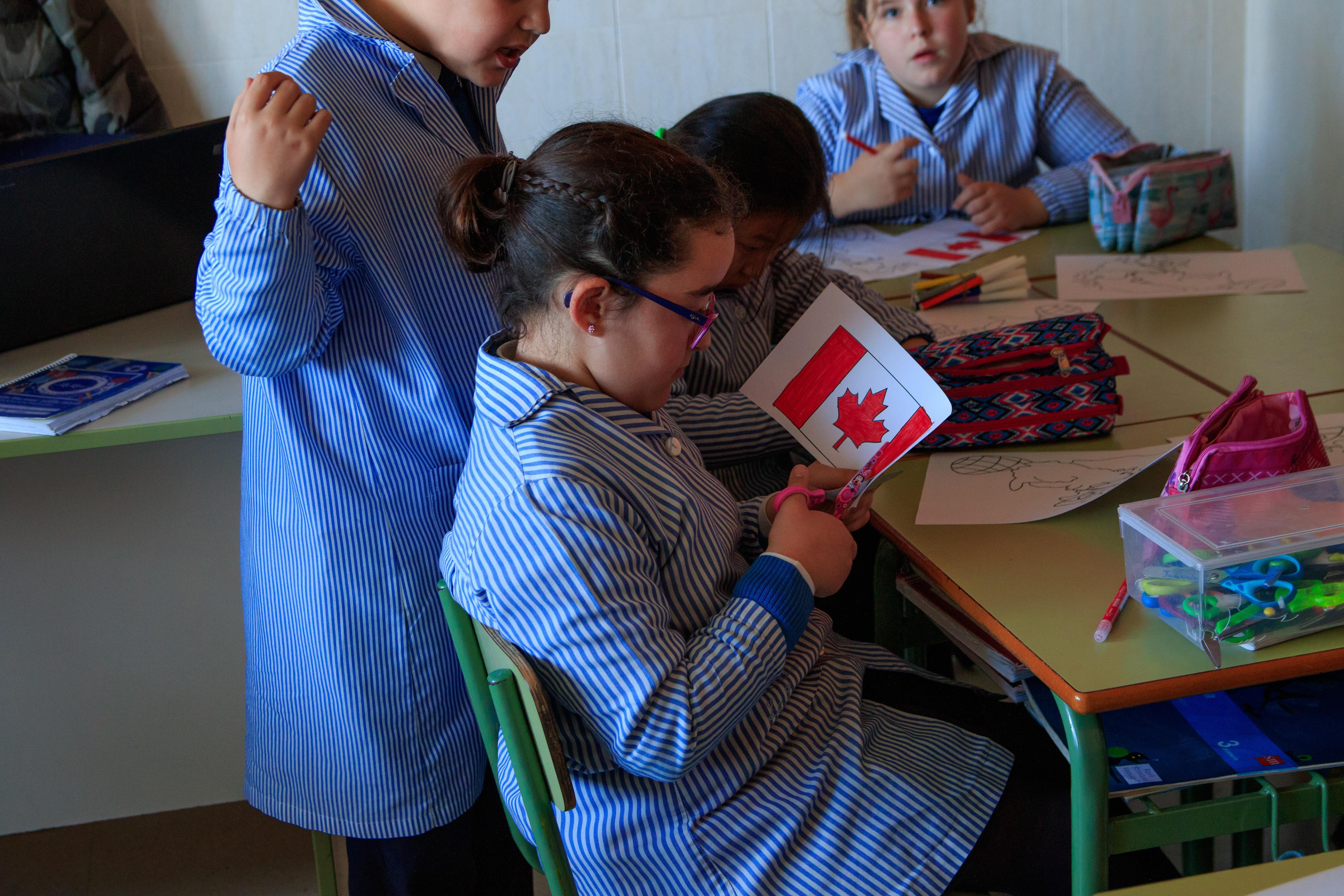 Actividad en el aula