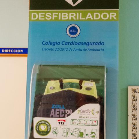 Desfibrilador, Colegio La Luna 2