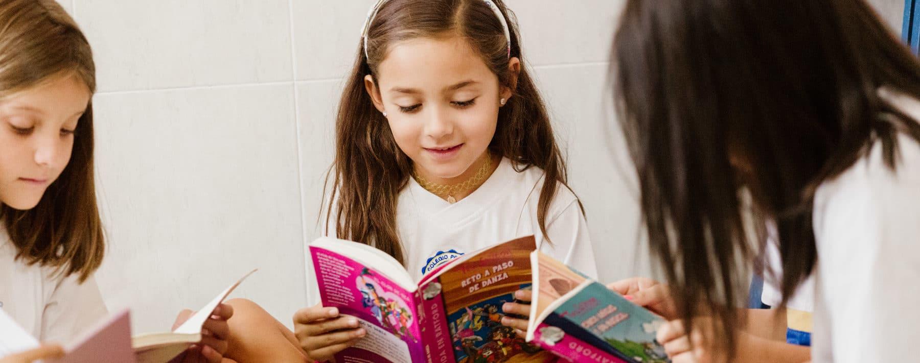 Aprendiendo a leer, Colegio La Luna