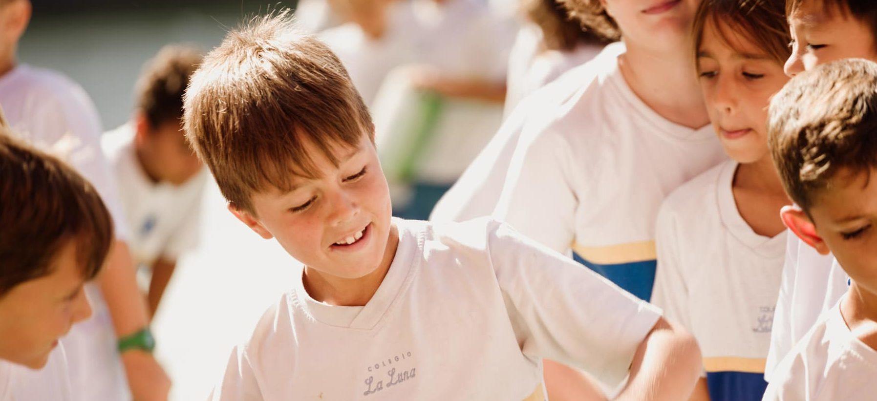 Foto alumnos en el recreo