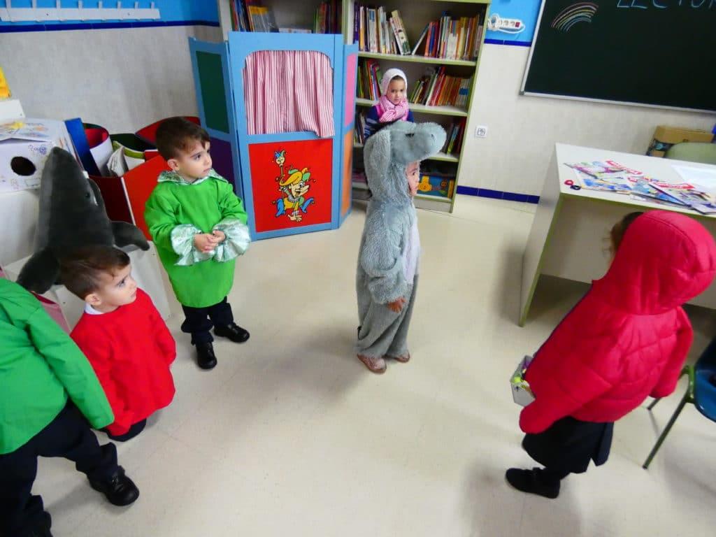 Día de disfraces, Colegio La Luna 3