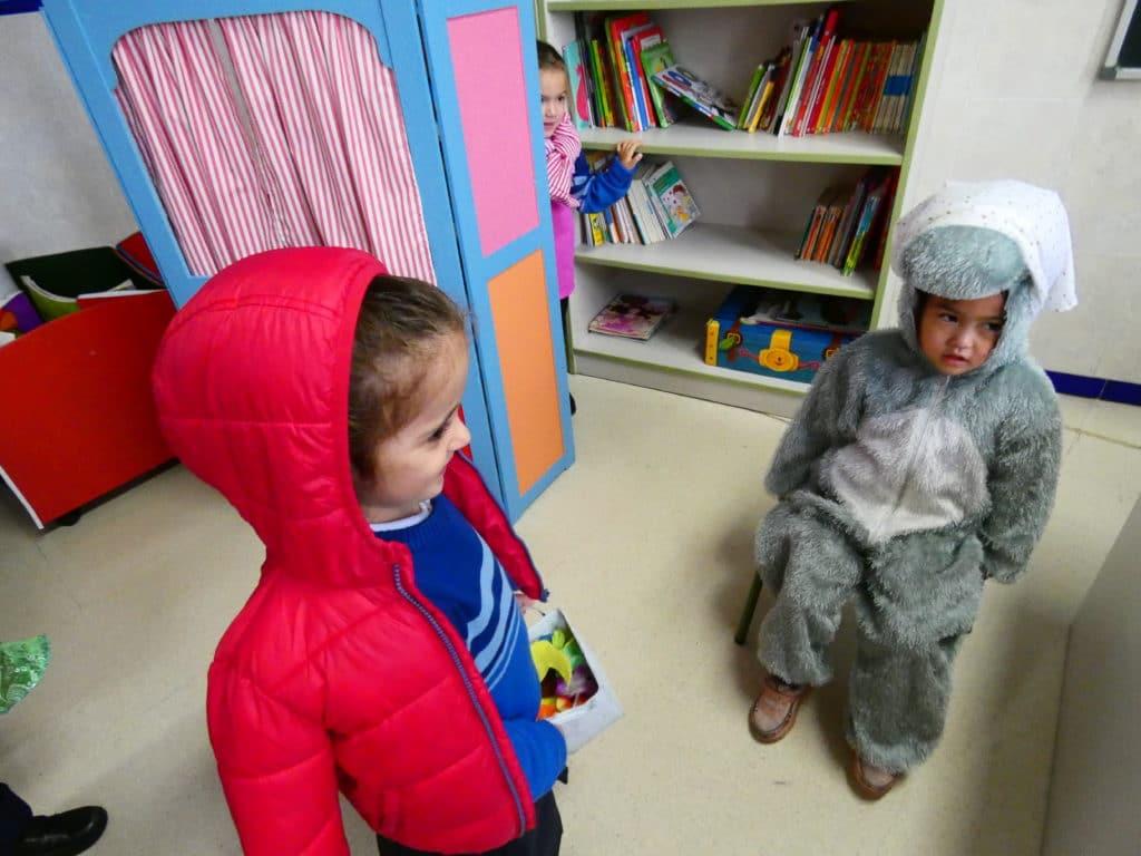 Día de disfraces, Colegio La Luna 2
